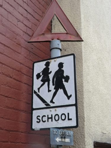 Old UK Sign